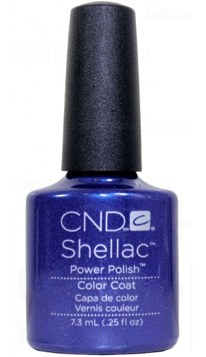 12-2017 Purple Purple Color By CND Shellac