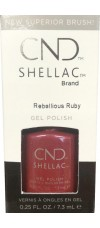 Rebellious Ruby By CND Shellac