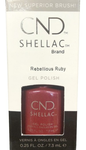 12-3372 Rebellious Ruby By CND Shellac