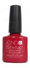 Rose Brocade By CND Shellac