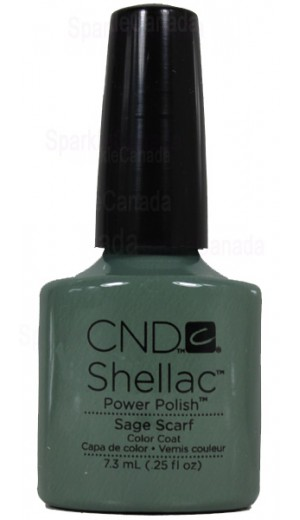 12-1126 Sage Scarf By CND Shellac