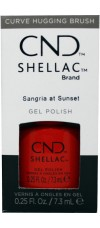 Sangria at Sunset By CND Shellac