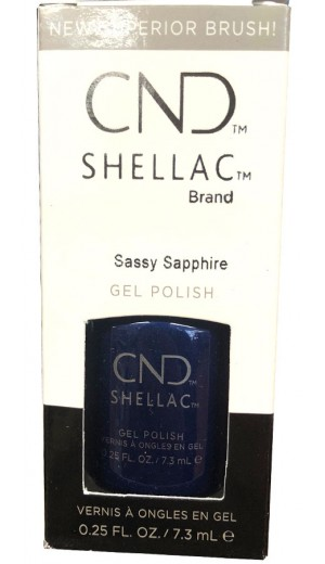 12-3373 Sassy Sapphire By CND Shellac