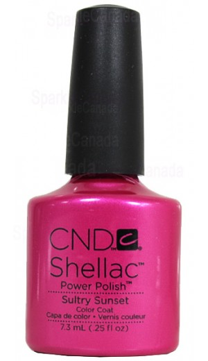 12-1128 Sultry Sunset By CND Shellac