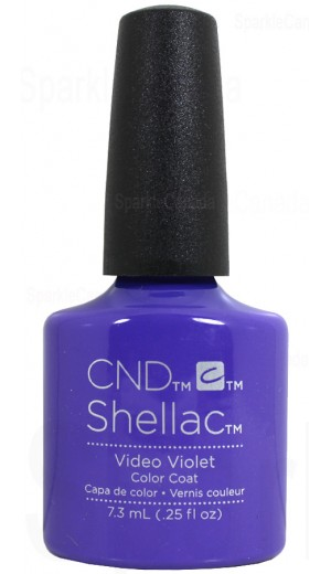12-2750 Video Violet By CND Shellac