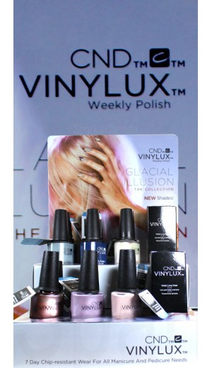 11-2963 CND Vinylux 2017 Glacial Illusion Collection - New Shades