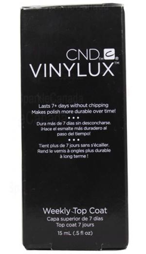CND-VINYLUX-TOPCOAT Weekly Top coat By CND Vinylux