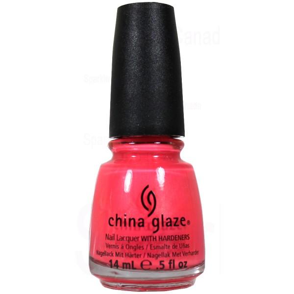 China Glaze Red Nail Polish: China Glaze, Pink Plumeria By China Glaze, 1094