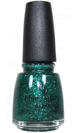 1349 Pine-ing For Glitter By China Glaze