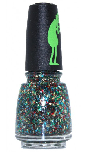 1640 Resting Grinch Face By China Glaze