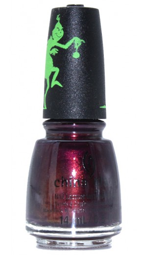 1643 You are A Mean One By China Glaze