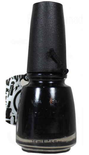 980 Black Mesh By China Glaze