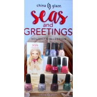 China Glaze 2016 Seas and Greetings Holiday Collection