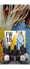 China Glaze 2018-Ready To Wear FW18 Collection