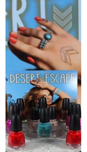 11-1352 China Glaze Desert Escape 2015 Collection
