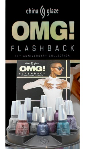 3-3199 China Glaze 2018 FlashBack Collection