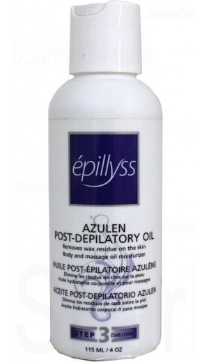 22-43 115ml Azulen Post-Depilatory Oil By Epillyss