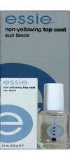 Non-yellowing Top Coat Sun Block By Essie