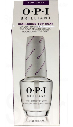 1-2774 Brilliant High Shine Top Coat By OPI