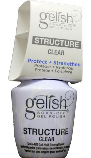 1140006 Soak Off Gel Structure - Clear By Harmony Gelish