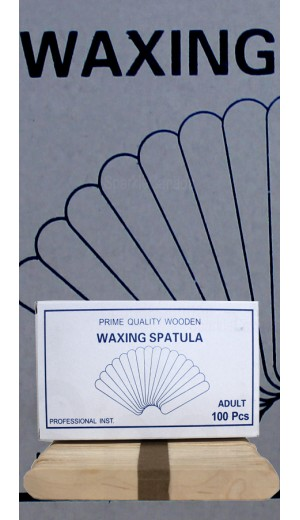 20-2821 100 Adult Pcs Waxing Spatula