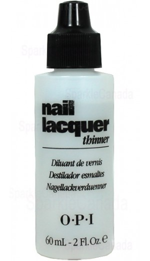 60ML-OPI-THINNER 60ml Nail Lacquer Thinner By OPI