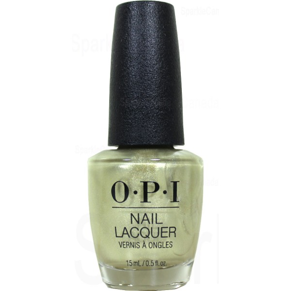Opi Gift Of Gold Never Gets Old By Opi Hrj12 Sparkle Canada One Nail Polish Place