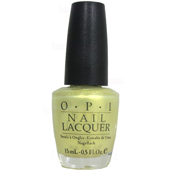 Anti Nail Biting Polish: OPI, Megawatt?! By OPI, NLB45
