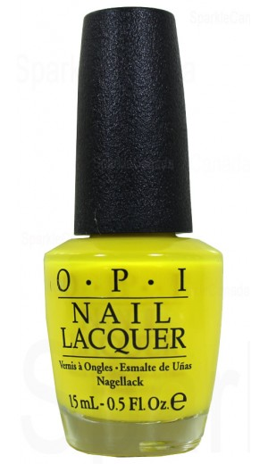 Opi No Faux Yellow By Opi Nlbb8 Sparkle Canada One Nail Polish Place