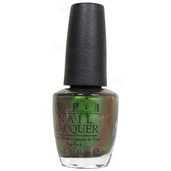 Nlc18 Green On The Runway By Opi