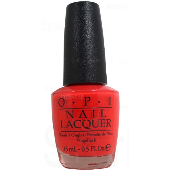 Anti Nail Biting Polish: OPI, Living On The Bula-vard By OPI, NLF81