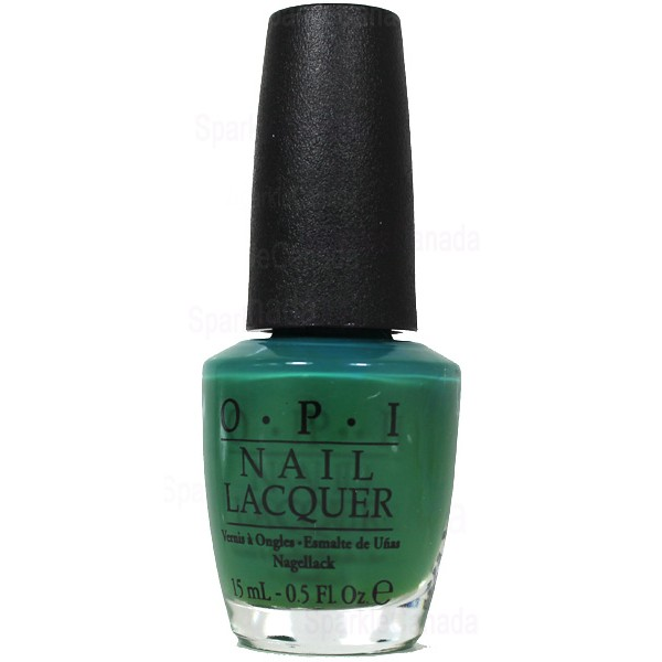 OPI, Jade Is The New Black By OPI, NLH45 | Sparkle Canada - One Nail ...