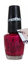 La Paz-itively Hot - Matte By OPI