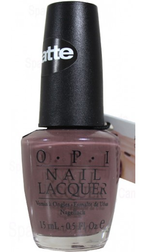 NMF15 You Dont Know Jacques Matte OPI By OPI