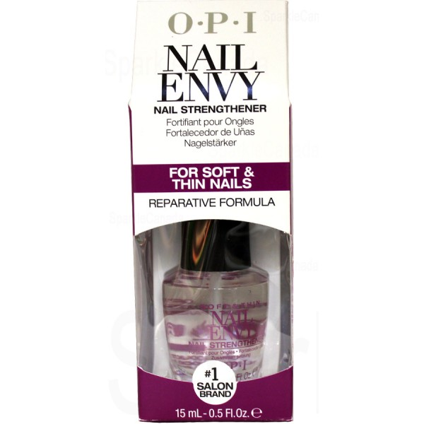 OPI Nail Envy, Soft and Thin Nail Envy Nail Strengthener By OPI Nail ...
