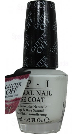 NTB01 Glitter Off Base Coat By OPI