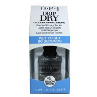 9ml Drip Dry - Wet To Set 60 Seconds By OPI Nail Care