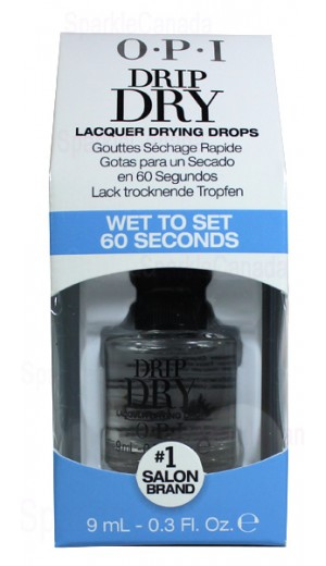 5-361 9ml Drip Dry - Wet To Set 60 Seconds By OPI Nail Care