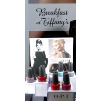 OPI 2016 Breakfast at Tiffany's Winter Collection