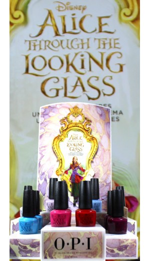DDA11 OPI 2016 Disney Alice Through The Looking Glass Collection