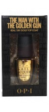 18 Karat Real Gold Leaf Top Coat by OPI, The Man With The Golden Gun
