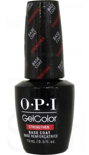 GC011 Strengthen Base Coat By OPI Gel Color