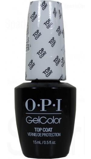 GC030 Top Coat By OPI Gel Color