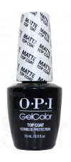 MATTE Top Coat By OPI Gel Color