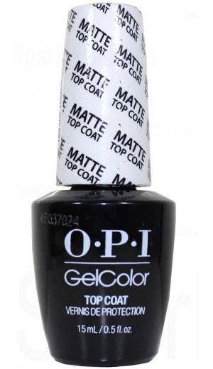 GC031 MATTE Top Coat By OPI Gel Color
