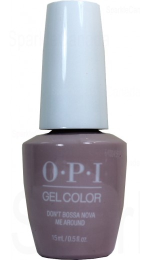 GCA60 Don t Bossa Nova Me Around By OPI Gel Color