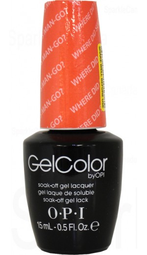 GCA66 Where did Suzi s Man-go? By OPI Gel Color