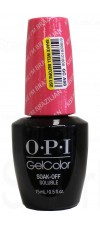 Kiss Me I'm Brazilian By OPI Gel Color