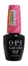 Can't Hear My Self Pink! By OPI Gel Color