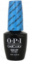 I Sea You Wear OPI By OPI Gel Color